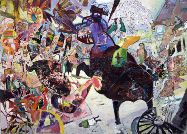 """""""The Tattooed Horse"""" – New Paintings by  Werner Liebmann"""